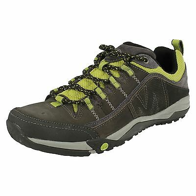 Merrell 'Helixer Distort' Men's Castle Rock Lace Up Leather Hiking Shoes