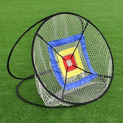 """Portable 37"""" Golf Training Practice Net Chipping Hitting Aid In/Outdoor Bag"""