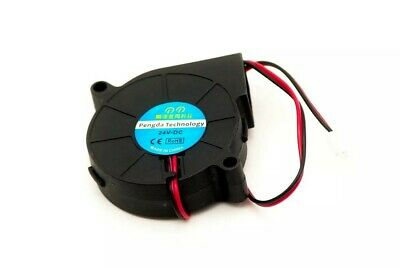 3D Printer Fan 5015 24V 0.15A Sleeve Bearing Brushless For Reprap Prusa i3