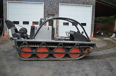 Bombardier Muskeg MM-72 Tracked Tractor Snow Cat Carrier Skidder w/ Winch 1972?