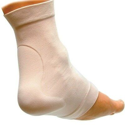 Elasticated Heel Sleeve With Gel Achilles Pad for Cushioning / Protection