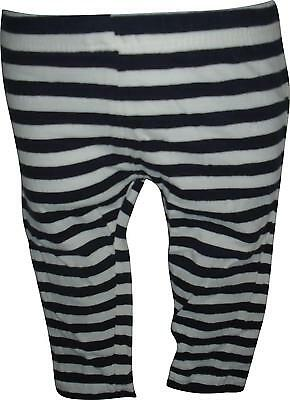USED Girls Young Dimensions Black&White Stripe Trousers Size 12-18 Months (E.M)