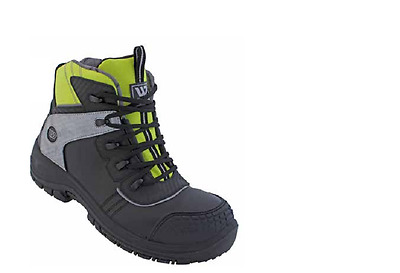 MENS HIKER SHOES BOOTS SAFETY Wenaas MULTINORM S3 ESD RAINCOATS THINSULATE LEATH