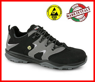 Mens Work Safety Trainers Shoes SECOR TUNER S3 SRC LOW Light weight Black NEW