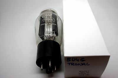 Tronal 5U4G Vt244 Vacuum Tube - Hickok Tv-7D/u Test