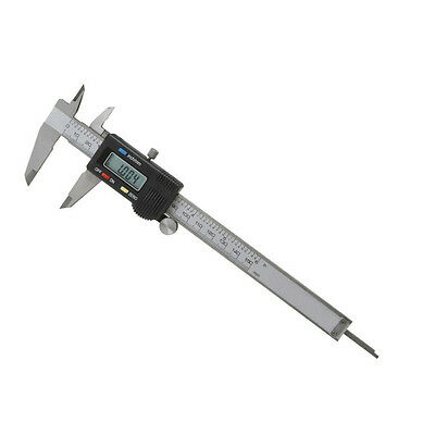 "6"" Stainless Steel Electronic Digital Vernier Micrometer Gauge Caliper"