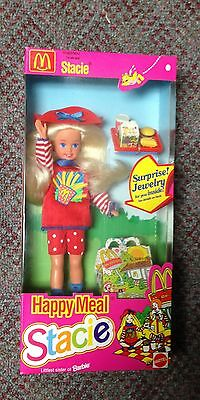 1993 McDonald's Happy Meal Stacie Doll NOS MIB By Mattel