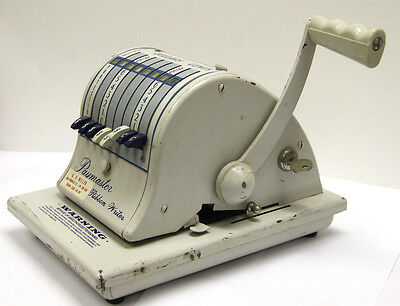 Vintage Paymaster 8000 Cheque Ribbon Writer