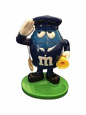 "M&Ms (MandM M&M's MMs) Candy Dispenser Blue Policeman (11"" x 8"" x 6"") NEW no box"