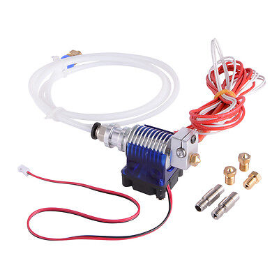 Hotend Metal Bowden 3D New Extruder J-head With Fans for Reprap 3D Printer TE601