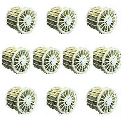 10 x Nesting Material Wheel Holder With Jute For Cage Aviary Birds Finch Canary