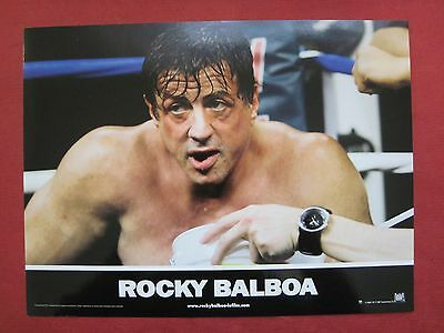 6 french colour 8x11 lobby cards ROCKY BALBOA 2007 SYLVESTER STALLONE