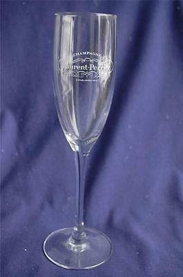 Laurent-Perrier Champagne Glass Stemware Made ARC France Crystal Clear Logo