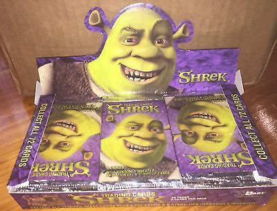 Shrek Trading Cards (Dart) Pack - 1 Pack Only