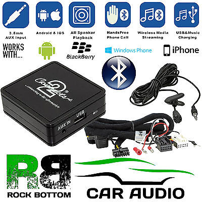vw Passat B6 Bluetooth Handsfree Car Kit & A2DP Music Streaming Interface Box