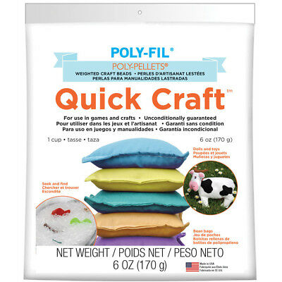 Poly Pellets Quick Craft Weighted Craft Beads PP1QC