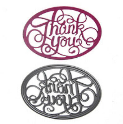 Craft-House 'Thank You Script' Cutting Die CHD18