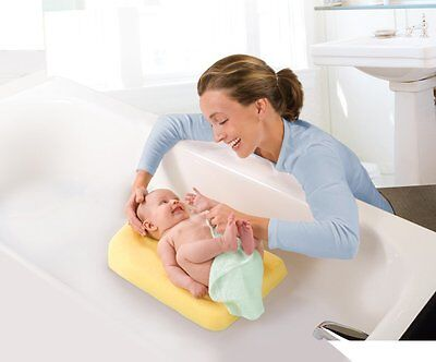 SUMMER INFANT Comfy Bath Sponge Baby Non Slip Support Mat Yellow ...