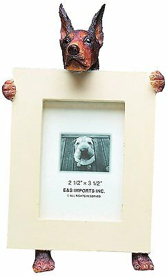Doberman Pinscher Red Dog Picture Photo Frame