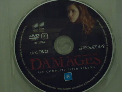 DVD Damages Season 3 Disc 2 Only (Good Condition)