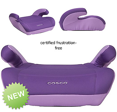 Grape Car Safety Seat Big Kid Safest Backless Booster Youth Child Toddller NEW