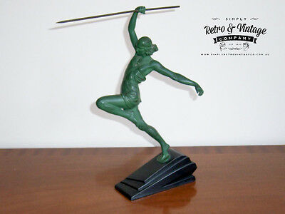 """Art Deco Sculpture """"The Amazon Pierre"""" Le Faguays under the pseudonym Fayral"""