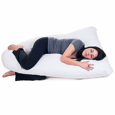 Pregnancy Body Pillow Comfort Maternity Cushion Support Back Neck Legs Bedding