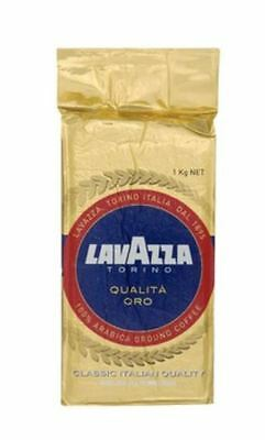 Lavazza Ground Coffee Torino Qualita Oro Arabica 1kg Made In Italy
