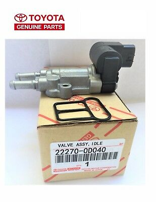 22270-0D040 OEM Genuine TOYOTA Idle Air Control Valve IAC Valve with Gasket NEW