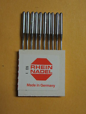 Davis Long Vertical Feed / UF Sewing Machine Substitute Needles Sz 16, Qty 10