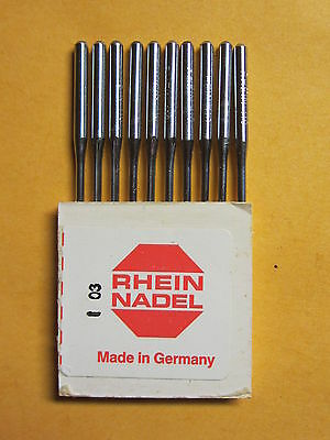 Davis Long Vertical Feed / UF Sewing Machine Substitute Needles Sz 18, Qty 10