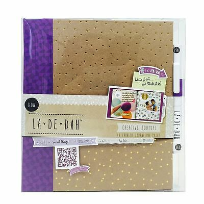 La De Dah Kraft Creative Diary Glow Journal Scrapbook Memory Photo Book