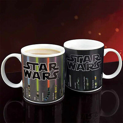 Magic Heat Resistance Cold Star Wars Color-Changing Coffee Mug Cup Drinkware