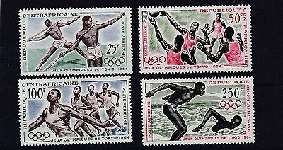 Central African Republic 1964 Olympic Games   Mnh