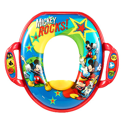 Mickey Soft Potty Seat Kids Baby Toilet Trainer Training Portable