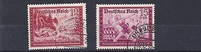 Germany  1939   S G 696 + 697  Values Used