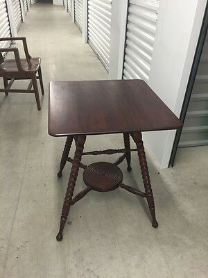 Antique Mahogany Parlor Side Table, Perfect condition