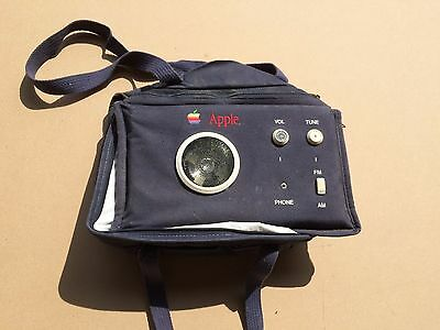 Apple Computer lunchbag with AM/FM radio - possibly only one existing