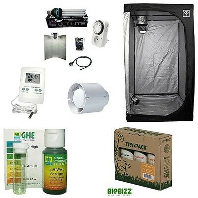 Kit Growbox 60 CFL 125W AGRO Growroom completa basso consumo Coltivazione Indoor