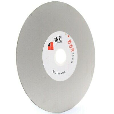 4 inch Diamond Fine Grinding Wheel 800 Grit Coated Flat Lap Disc Lapidary