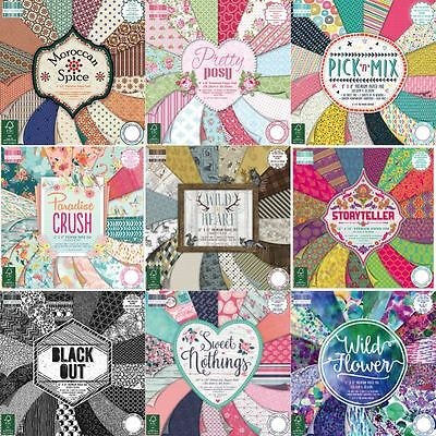 *OFFER* Trimcraft First Edition Scrapbook Paper Pads + Cardstock - BIG RANGE!