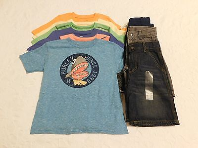 Boys Clothes Size 6 Lot Shirts Shorts Summer NWT Brand New Retail $154