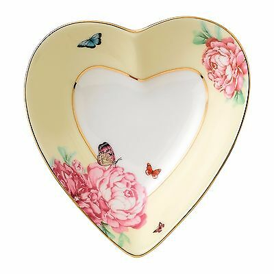 New JUST IN! Miranda Kerr for Royal Albert JOY Heart Tray 13cm - great gift idea