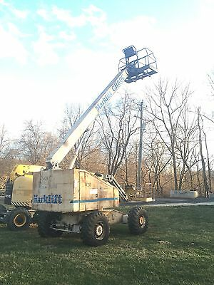 Marklift Ch60C 60' 4X4 Diesel Straight Boom Man Lift Cherry Picker