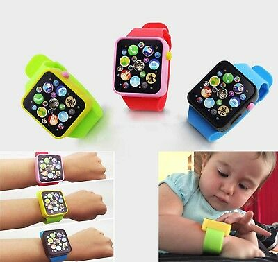 HOT Fun Cute Wrist Watch Kids Children Baby Educational Toy Gift musical