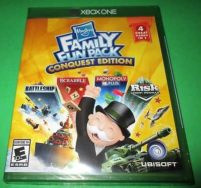 Hasbro Family Fun Pack Conquest Edition Microsoft Xbox One *New *Free Shipping!