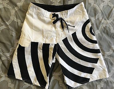 NEW C & K Board Shorts Swim Trunks Boys SZ 10,12 - Geometric - NWT Retail $9.95
