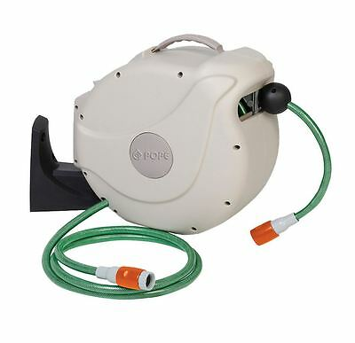 Pope Automatic Retractable Hose Reel Portable 12mm x 20m