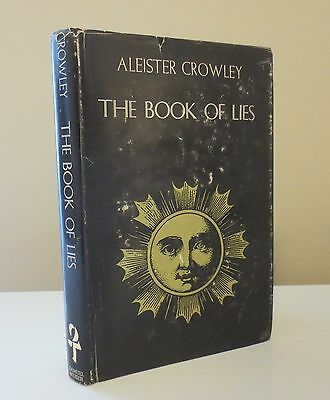 THE BOOK OF LIES By Aleister Crowley (First Weiser Edition c.1970)