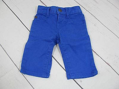 """""""Baby Gap"""" Baby Bright Blue Jeans Size 0-3 Months - A1094"""
